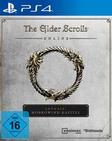 Verpackung von The Elder Scrolls Online: Morrowind [PS4]