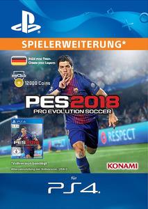 Verpackung von Pro Evolution Soccer 2018 myClub Coin 12000 [PS4]