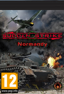 Packaging of Sudden Strike Normandia [PC]