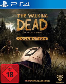 Verpackung von The Walking Dead Collection: The Telltale Series [PS4]