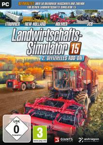Verpackung von Landwirtschafts-Simulator 15 Offizielles AddOn 2 [PC]