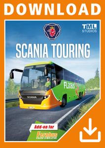 Verpackung von Fernbus Simulator Scania Touring [PC]