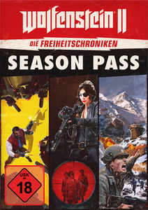 Verpackung von Wolfenstein II: The New Colossus Freedom Chronicles Season Pass [PC]