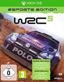 Verpackung von WRC 5 - eSports Edition [Xbox One]