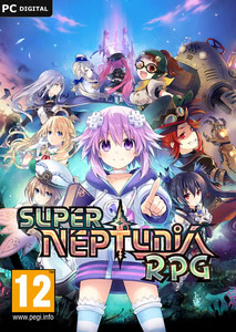 Packaging of Super Neptunia RPG [PC]