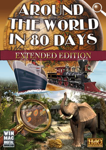 Packaging of Around the World in 80 Days - Extended Version [PC]