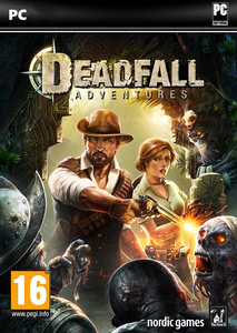 Packaging of Deadfall Adventures [PC]