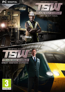 Packaging of Train Sim World: CSX Heavy Haul + Great Western Express Pack [PC]