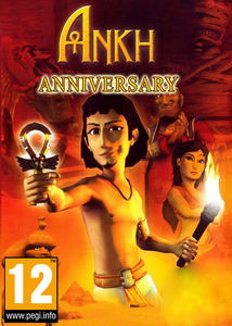 Packaging of Ankh Anniversary Edition [PC]