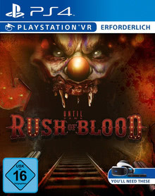 Verpackung von Until Dawn: Rush of Blood (VR only) - Playstation VR erforderlich [PS4]