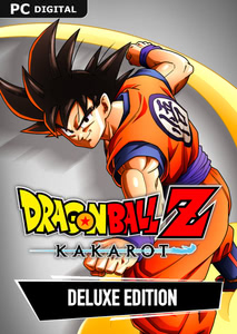 Packaging of Dragon Ball Z: Kakarot Deluxe Edition [PC]