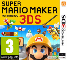 Packaging of Super Mario Maker [3DS]