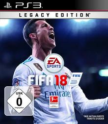 Verpackung von Fifa 18 Legacy Edition [PS3]