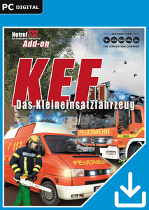 Packaging of Die Feuerwehr Simulation Notruf 112 KEF – The minor operations vehicle [PC]