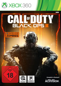 Verpackung von Call of Duty: Black Ops 3 [Xbox 360]