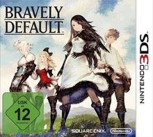 Verpackung von Bravely Default [3DS]