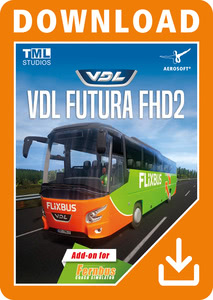 Packaging of Der Fernbus Simulator VDL Futura FHD2 [PC]