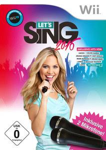 Verpackung von Let's Sing 2016 + 2 Mikrofone [Wii]