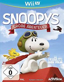 Verpackung von Snoopys Große Abenteuer [Wii U]