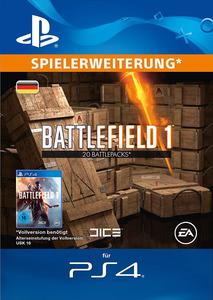 Verpackung von Battlefield 1 20 Battlepacks [PS4]