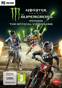 Verpackung von Monster Energy Supercross: The Official Videogame [PC]