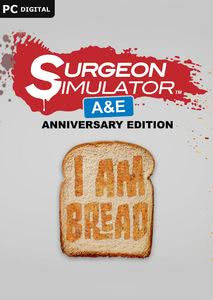 Packaging of Surgeon Simulator Anniversary Edition + I am Bread Bundle [PC]
