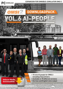 Packaging of OMSI 2 Downloadpack Vol. 6 - AI-Peoples [PC]