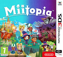 Packaging of Miitopia [3DS]