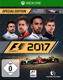 Verpackung von F1 2017 Special Edition [Xbox One]