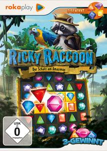 Verpackung von rokaplay - Ricky Raccoon: Der Schatz am Amazonas [PC]