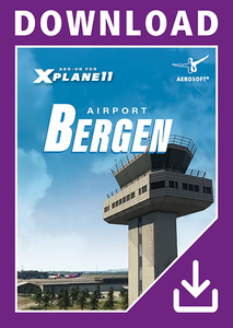 Packaging of X-Plane 11 Airport Bergen XP [PC / Mac]