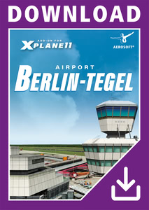 Packaging of X-Plane 11 Airport Berlin-Tegel XP [PC]
