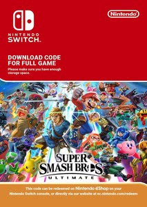 Packaging of Super Smash Bros Ultimate [Switch]