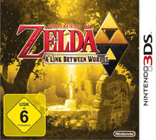 Verpackung von The Legend of Zelda: A Link Between Worlds [3DS]