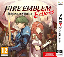 Packaging of Nintendo Fire Emblem Echoes: Shadows of Valentia [3DS]