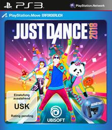 Verpackung von Just Dance 2018 [PS3]