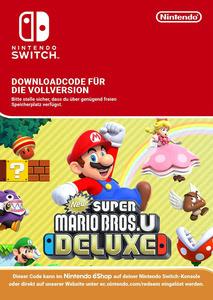 Verpackung von New Super Mario Bros. U Deluxe [Switch]