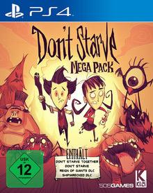 Verpackung von Don't Starve Mega Pack [PS4]