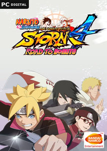 Packaging of Naruto Shippuden Ultimate Ninja Storm 4 Road to Boruto Expansion [PC]