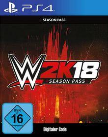 Verpackung von WWE 2K18 Season Pass - deutsches PSN-Konto [PS4]