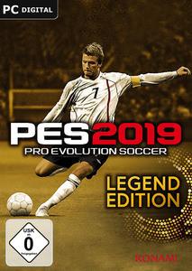 Verpackung von Pro Evolution Soccer 2019 Legend Edition [PC]