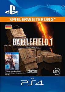 Verpackung von Battlefield 1 5 Battlepacks [PS4]