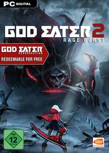 Verpackung von God Eater 2 - Rage Burst [PC]