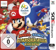 Verpackung von Mario & Sonic bei den Olympischen Spielen: Rio 2016 [3DS]