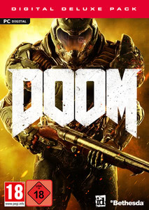 Packaging of DOOM Digital Deluxe Edition [PC]