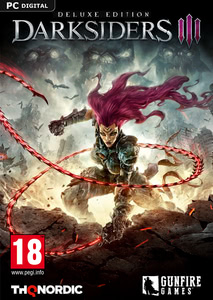Packaging of Darksiders III Deluxe Edition [PC]