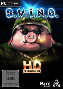Verpackung von S.W.I.N.E. HD Remaster [PC]