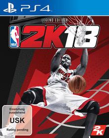 Verpackung von NBA 2K18 Legend Edition [PS4]