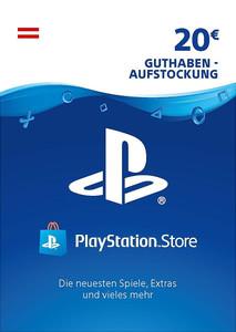 Verpackung von PlayStation Network Code 20 Euro Österreichisches Konto [PS3 / PS4]