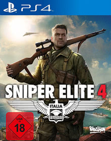 Verpackung von Sniper Elite 4 [PS4]